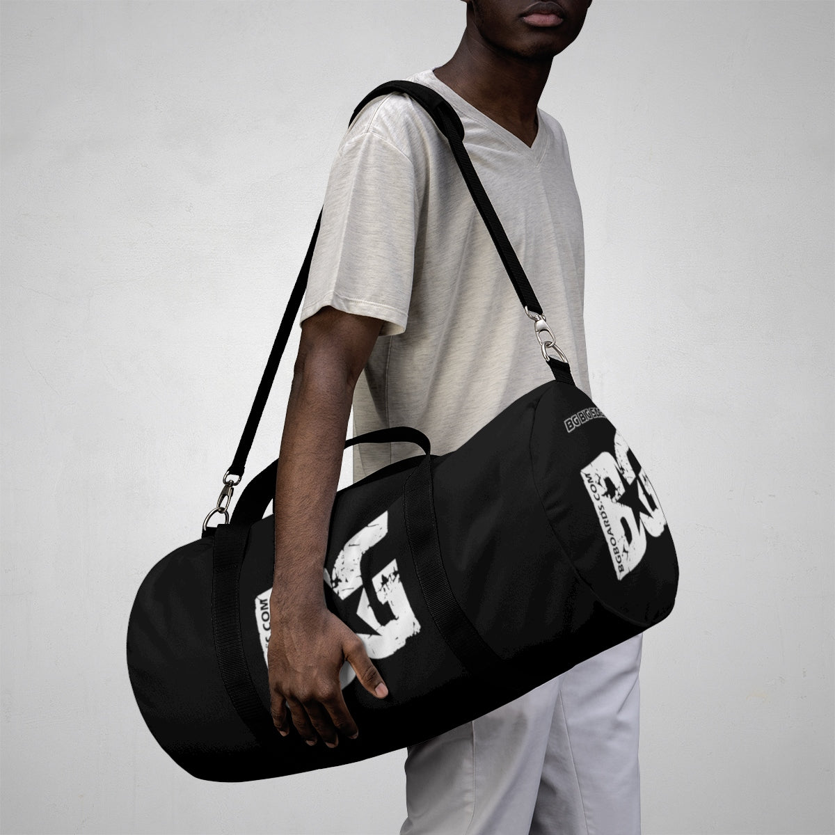 BG BIG SACK BLACK DUFFLE BAG