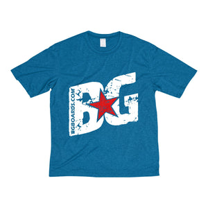 Slant BG Men's Heather Dri-Fit Tee