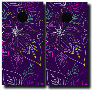 ALOHA 24x48 cornhole board wraps - SET OF 2 - BG Boards and Graphics LLC