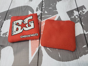 2018-2019 ACL Approved BG CHECKMATE regulation cornhole bags - HALF SET OF 4 BAGS