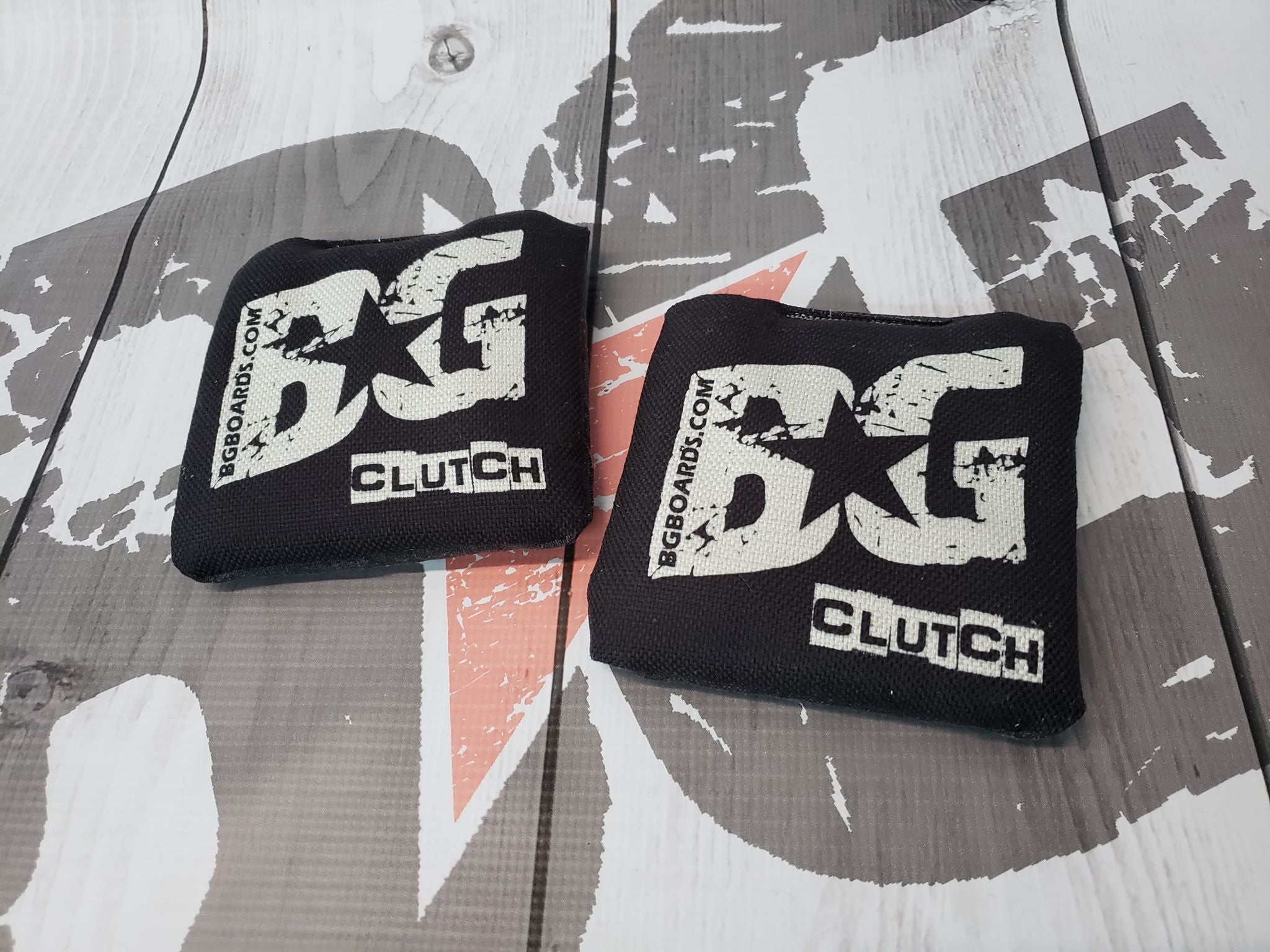 2018-2019 ACL Approved BG CLUTCH regulation cornhole bags - HALF SET OF 4 BAGS