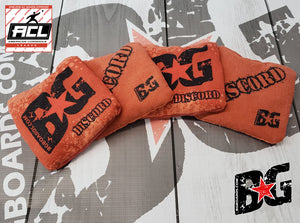 2018-2019 ACL Approved BG DISCORD regulation cornhole bags - HALF SET OF 4 BAGS