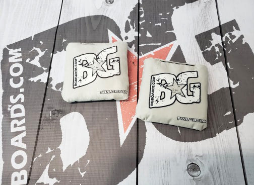 2018-2019 ACL APPROVED BG TAILGATOR regulation cornhole bags - HALF SET OF 4 BAGS