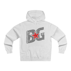 Slant BG Men's Lightweight Pullover Hooded Sweatshirt