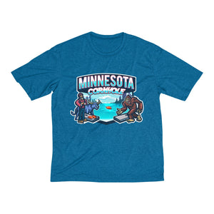 Minnesota Cornhole Men's Heather Dri-Fit Tee
