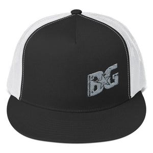 Slant BG Embroidered Trucker Cap