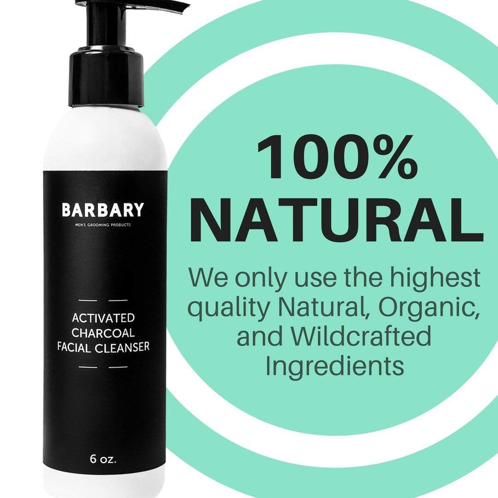 Barbary Organic Activated Charcoal Face Wash - Facentials