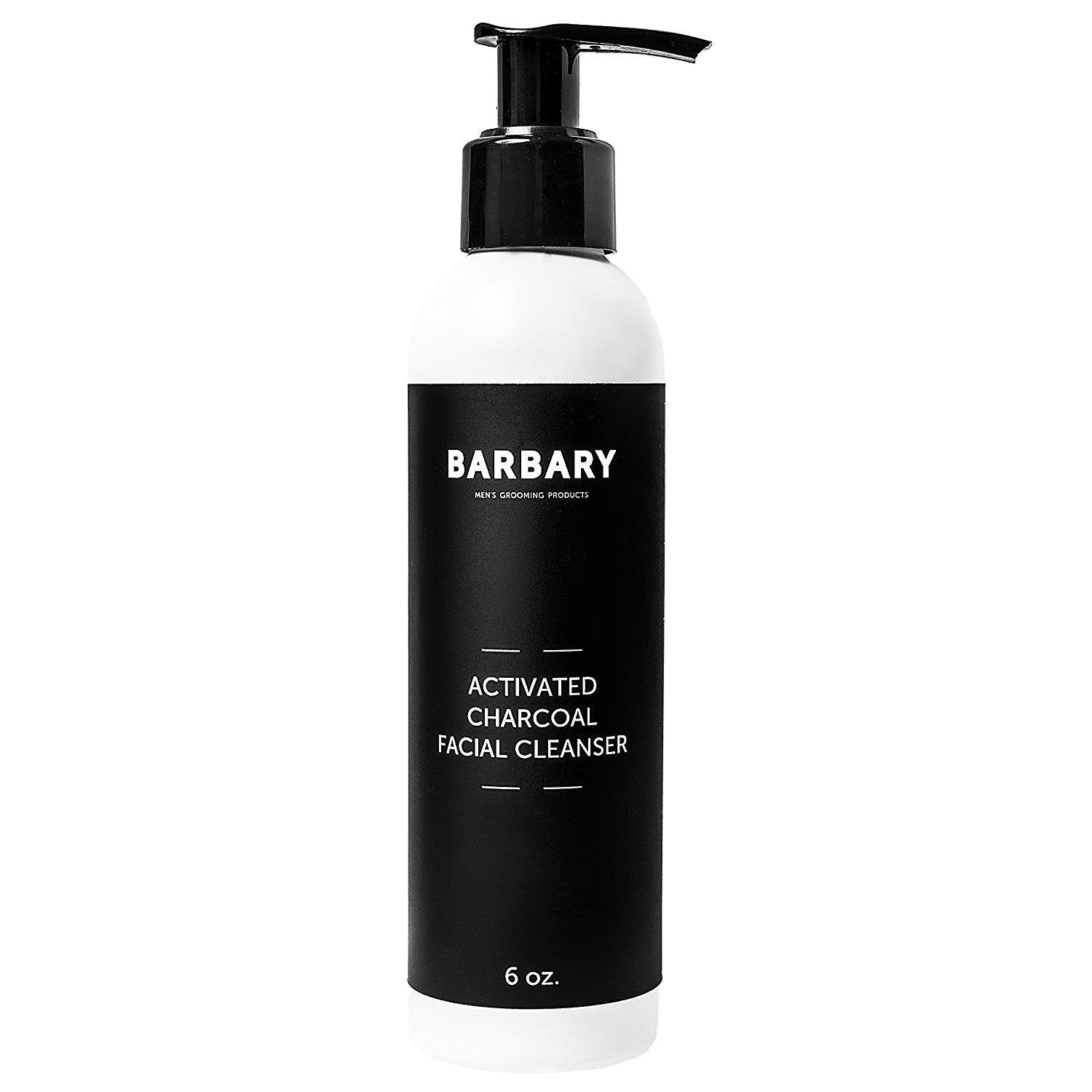 Barbary Organic Activated Charcoal Face Wash