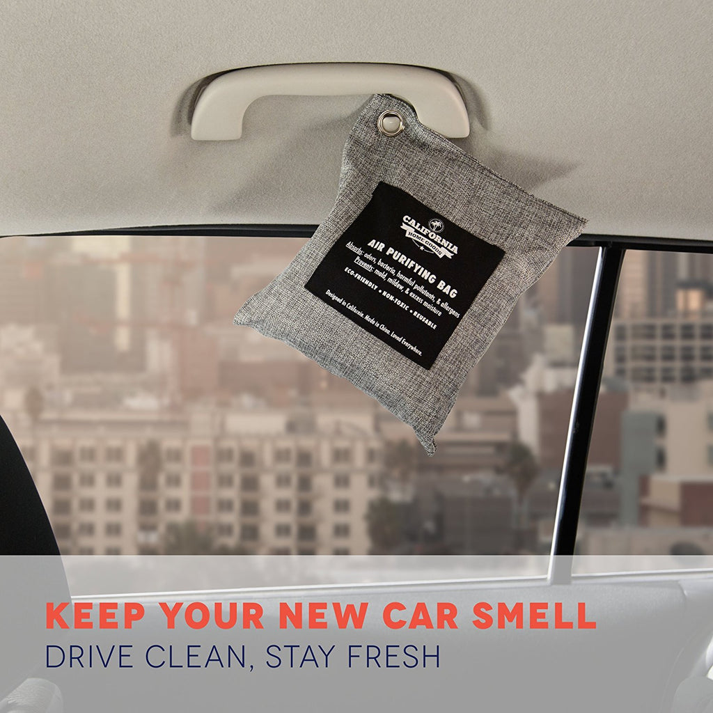 California Concepts Naturally Activated Bamboo Charcoal Air Freshener Deodorizer - Facentials