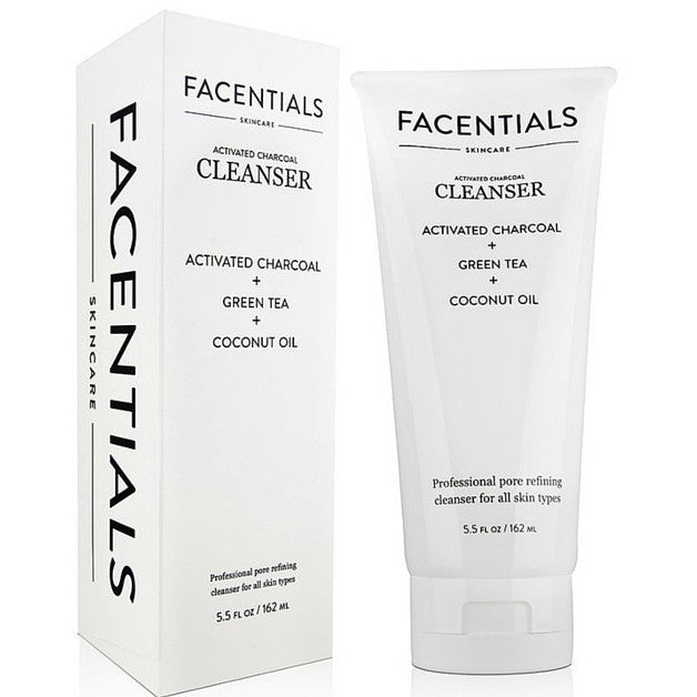 Activated Charcoal Facial Cleanser - Facentials