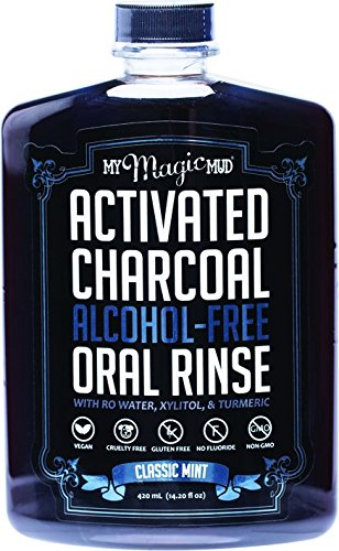 My Magic Mud Activated Charcoal Oral Rinse Classic Mint - Facentials