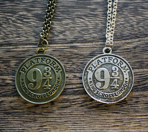 Platform 9 and 3/4 necklace
