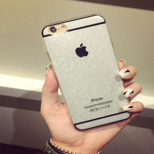 Silver iPhone Case