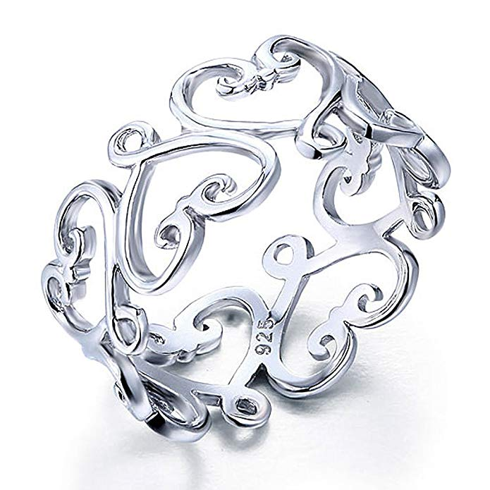 Hearts Intertwine Ring