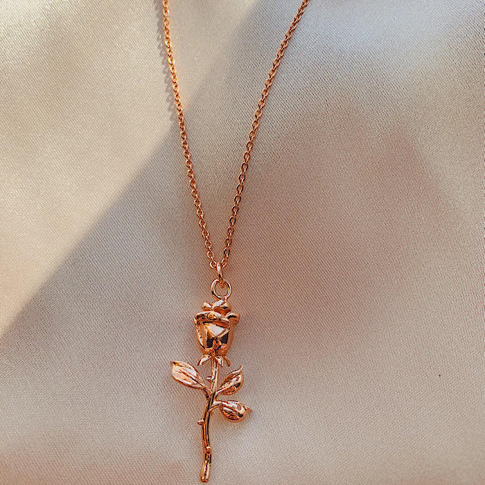 Beauty Rose Necklace