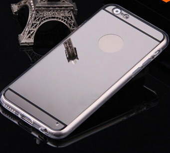 Luxury Silver Mirror Case