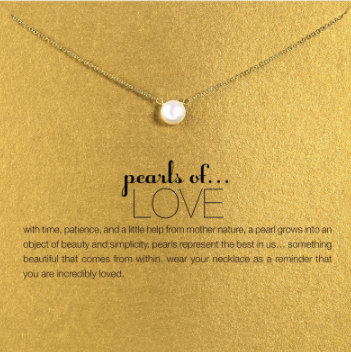 Pearls Of Love Necklace