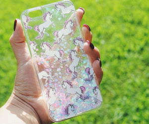 Fluorescent Unicorn Iphone Case