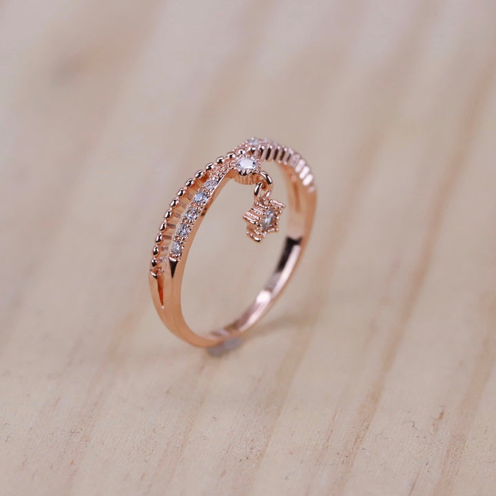 'My star' ring