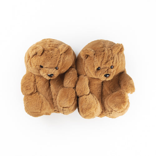 Teddy Bear Slippers
