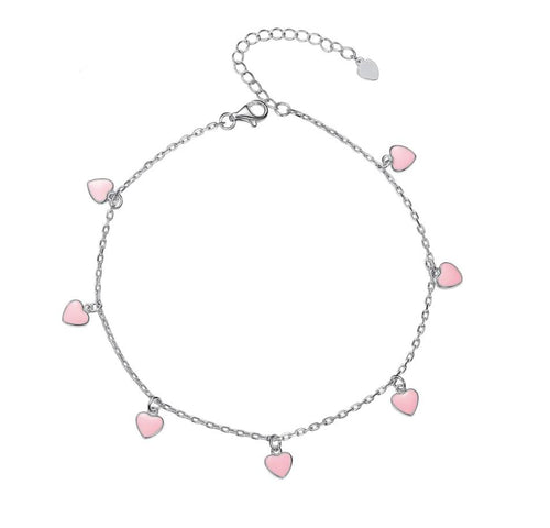 Love Hearts Anklet
