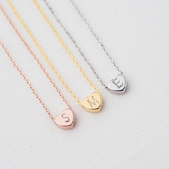 Elegant Personalized Heart Necklace