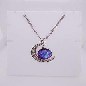 Stardust Moon Necklace