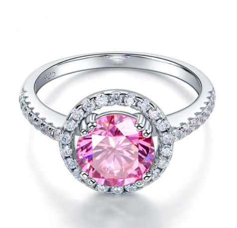 pink diamond sapphire jewelry cutting ring rings starburst products faulhaber
