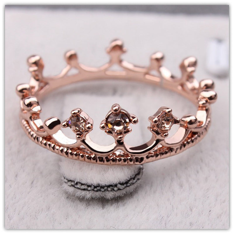 Gold Crown Ring – Sunflower Jewels