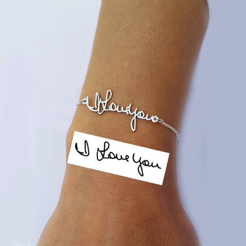 PERSONALIZED SIGNATURE BRACELET