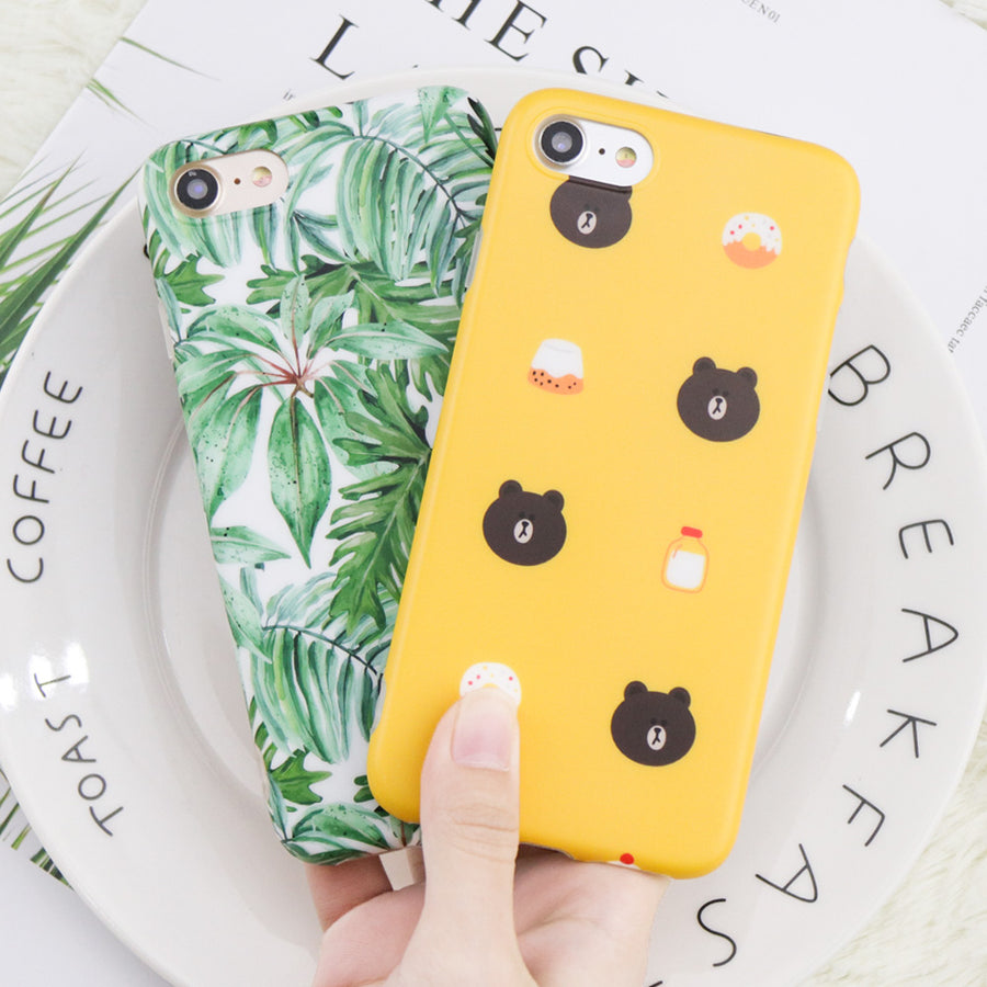 Cartoon Bear iPhone Case