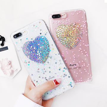 Glitter Powder Phone Case