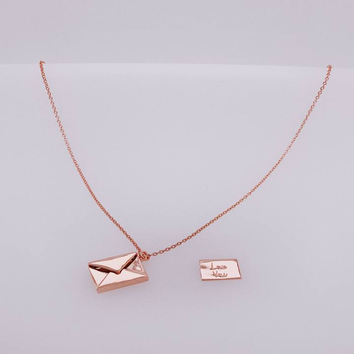 """Love You"" Necklace"
