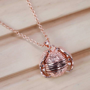 Angel Wing Locket Necklace