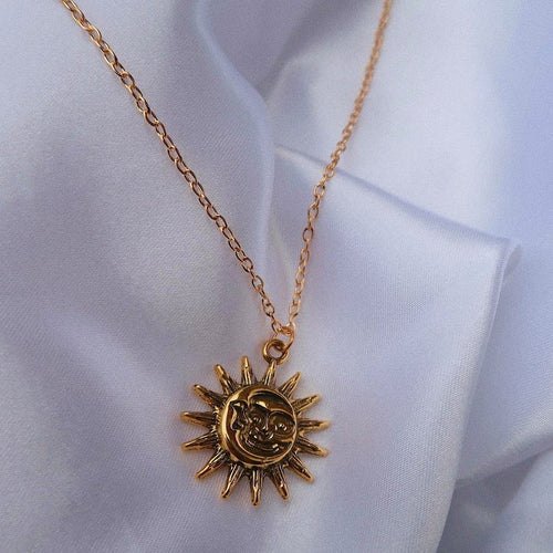 SUN-MOON NECKLACE