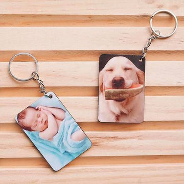 Personalized Photo Keychain