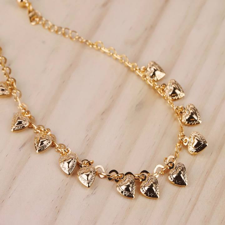 Hearts Anklet