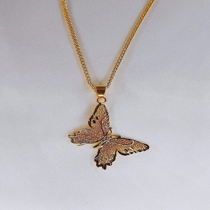 Sweet Butterfly Necklace