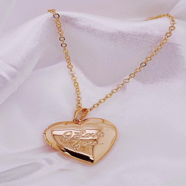 'I Love You' Locket Necklace