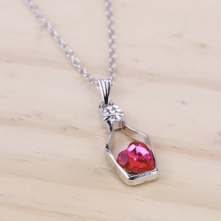 Love Drift Bottle Necklace