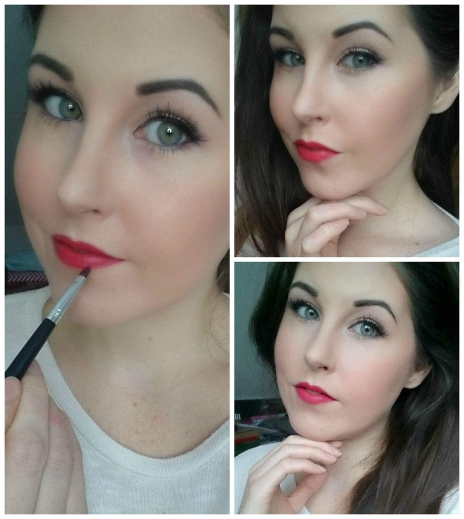 Classic Red Valentines Look