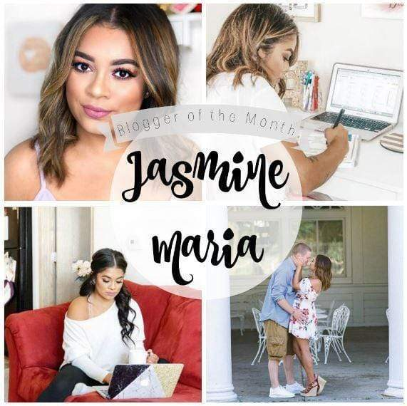September Blogger of the Month - Jasmine Maria