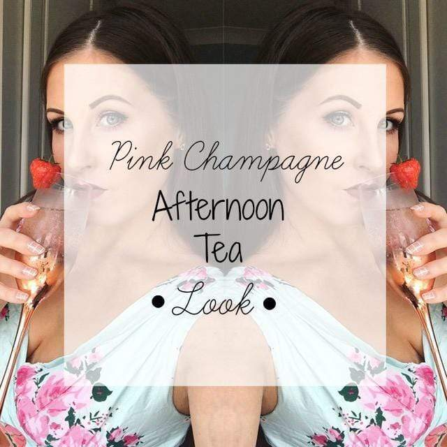 Pink Champagne Afternoon Tea Look