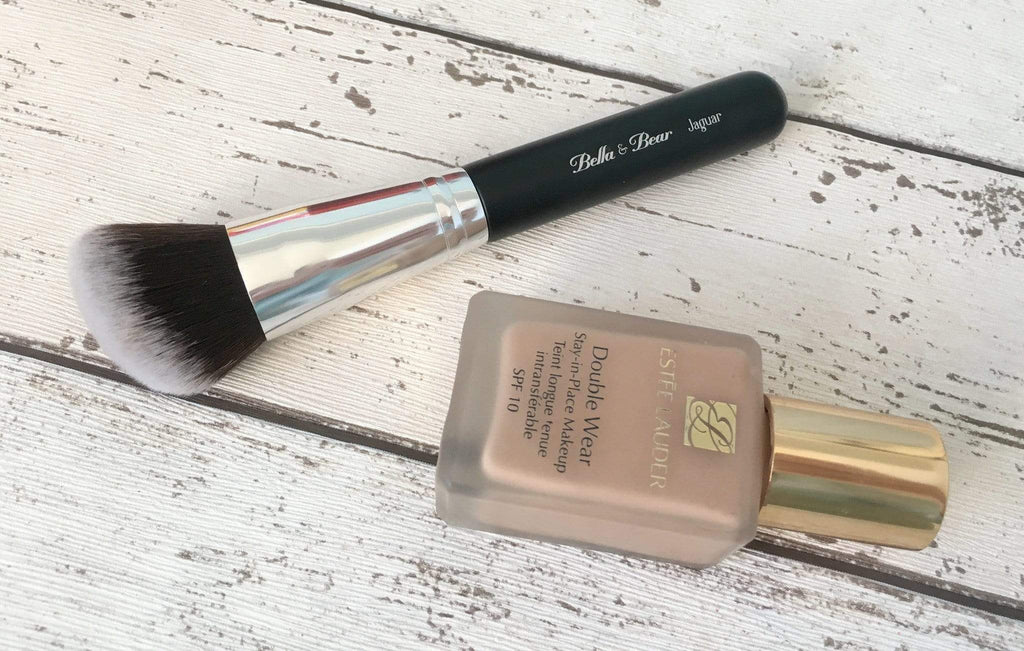 A Closer Look; Jaguar Angled Kabuki Brush