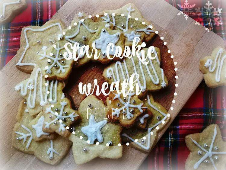 Star cookie wreath recipe