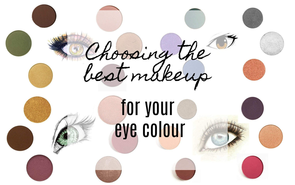 Choosing the best makeup for your eye colour