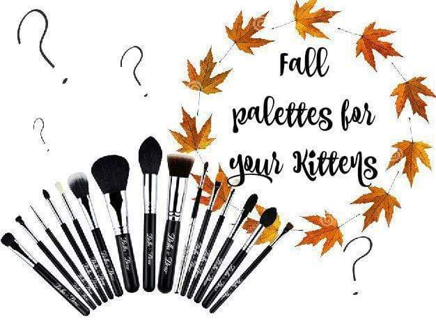 Fall palettes to team with your Kitten Set!