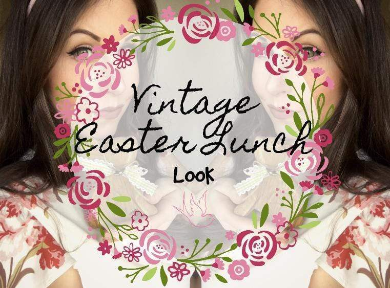 Vintage Inspired Easter Lunch Look