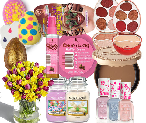 Easter gifts that arent chocolate bella and bear scent not only does it have that light flowery fragrance perfect for the spring it also comes in the most stunning bottle embellished with purple negle Image collections