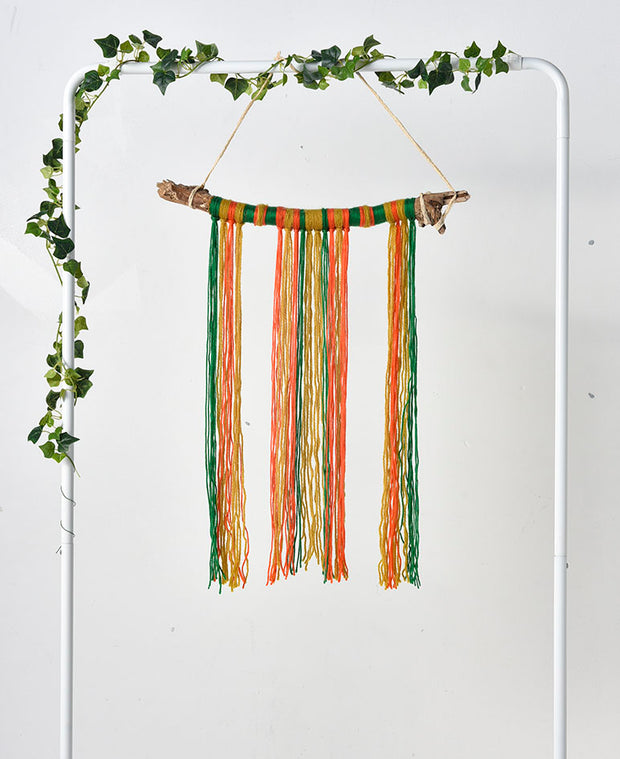 Wool & Driftwood Wall Hanging